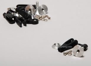 Extra Forte Controle Horns w / Bearing 15 milímetros (5pcs)