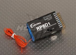 Corona Sintetizado Dual-Conv Receiver 9CH 72Mhz