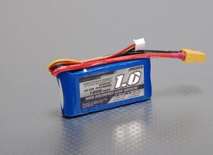 Turnigy 1000mAh 2S 30C Lipo pacote