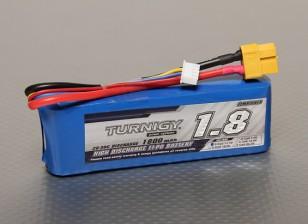 Turnigy 1800mAh 3S 20C Lipo pacote