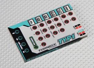 Cartão de programação Turnigy TY-P1 25Amp Brushless ESC