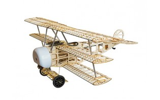 Fokker Dr.I 770mm Laser Cut Balsa Model Kit
