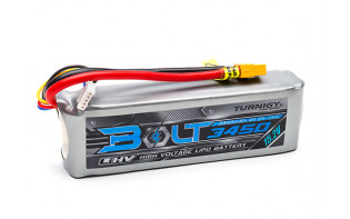 Turnigy Bolt 3450mAh 4S 15.2V 65~130C High Voltage Lipoly Pack (LiHV) w/XT60