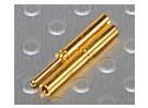0.8mm ouro Conectores de 12 pares (24pc)