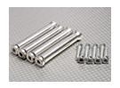 RCGF 30cc substituição suporte isolador com os parafusos (4pc)