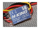 H-KING 50A Asa fixa Brushless Speed ​​Controller