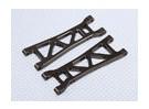 Suspension Arm Set L / R traseiros (2pcs / bag) - 1/10 Brushless 2WD Desert Corrida Buggy - A2032 e A2033