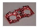 Turnigy 9XR Transmissor personalizado Faceplate - Red Metallic