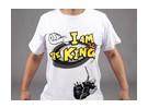 """Eu sou o rei"" t-shirt HobbyKing (Medium) - Reembolso Oferta"