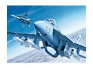 Italeri escala 1/72 Kit F / A-18E Super Hornet Plastic Modelo
