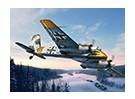 Kit Italeri 1/72 Escala Henschel HS-129 B-2 Modelo de plástico