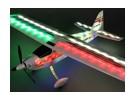 HobbyKing® Flybeam Noite Flyer EPP w / Sistema de LED 1.092 milímetros (PNF)