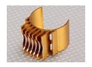 Ouro de alumínio Motor dissipador de calor 540/550/560 (36 milímetros)