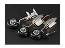 Turnigy 90 Degree Todos Metal Triciclo Retracção Sistema w / Legs fio 3 milímetros (3 kg AUW Max)
