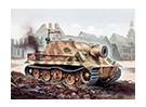 Italeri 1/35 Escala Kit RW 61 Auf Sturmmorser Tiger Modelo plástico