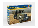 Kit Italeri 1/35 escala média 3 Ton caminhão de carvão Motor Modelo plástico