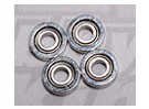 HK-250GT Ball Bearing 4 x 1,5 x 1,2 milímetros (4pcs / set)