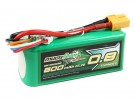 Multistar Racer Série 800mAh 6S 60C Lipo Pack (ouro Spec)