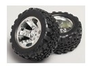1/8 Monster Truck Wheel & Tyre 12 milímetros Hex (2pc)
