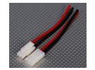 Tamiya conector estilo Masculino / 10 centímetros Mulher (5pairs / saco)