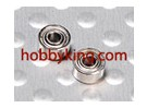 E4001 Ball Bearing 1,4 x 2 x 2 milímetros (2pcs / set)