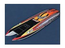 Genesis Offshore gêmeo Hull (1.045 milímetros) de fibra de vidro do casco Apenas