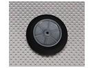 Luz espuma roda Diam: 50, Largura: 18,5 milímetros (5pcs / bag)