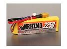 Rhino 2250mAh 3S 11.1v 25C Lipoly pacote