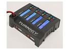 Carregador Turnigy TQ4 4x6S Lithium Polymer Bateria