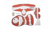 H-King Glue-N-Go Clownfish EPP 850mm (Kit) - pieces