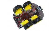 Kingduino-4wd-ultrasonic-robot-below
