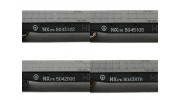 NX17K Flat Car (HO Scale - 4 Pack) Set 1 Individual lettering