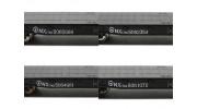 NX17K Flat Car (HO Scale - 4 Pack) Set 2 Lettering detail