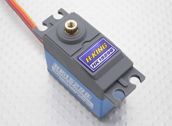 Details about RC HobbyKing HK15298 High Voltage Coreless Digital Servo  MG/BB 66g/15kg/0 11s