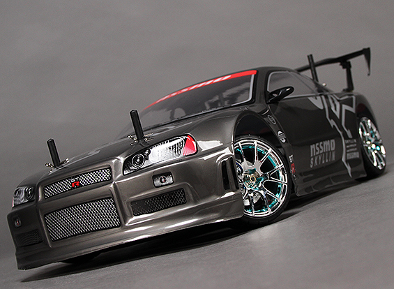 Details about RC 1/10 HobbyKing Mission-D 4WD GTR Drift Car (ARR)