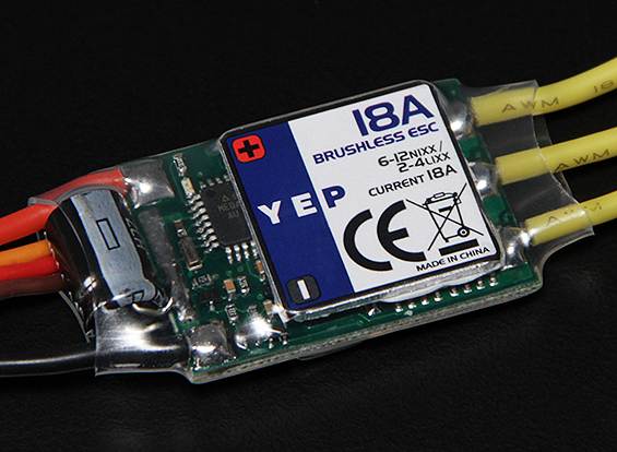 Details about RC Hobbyking YEP 18A (2~4S) SBEC Brushless Speed Controller