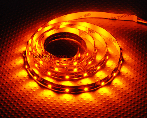 Rc high density rc led flexible strip yellow 1mtr ebay aloadofball Image collections