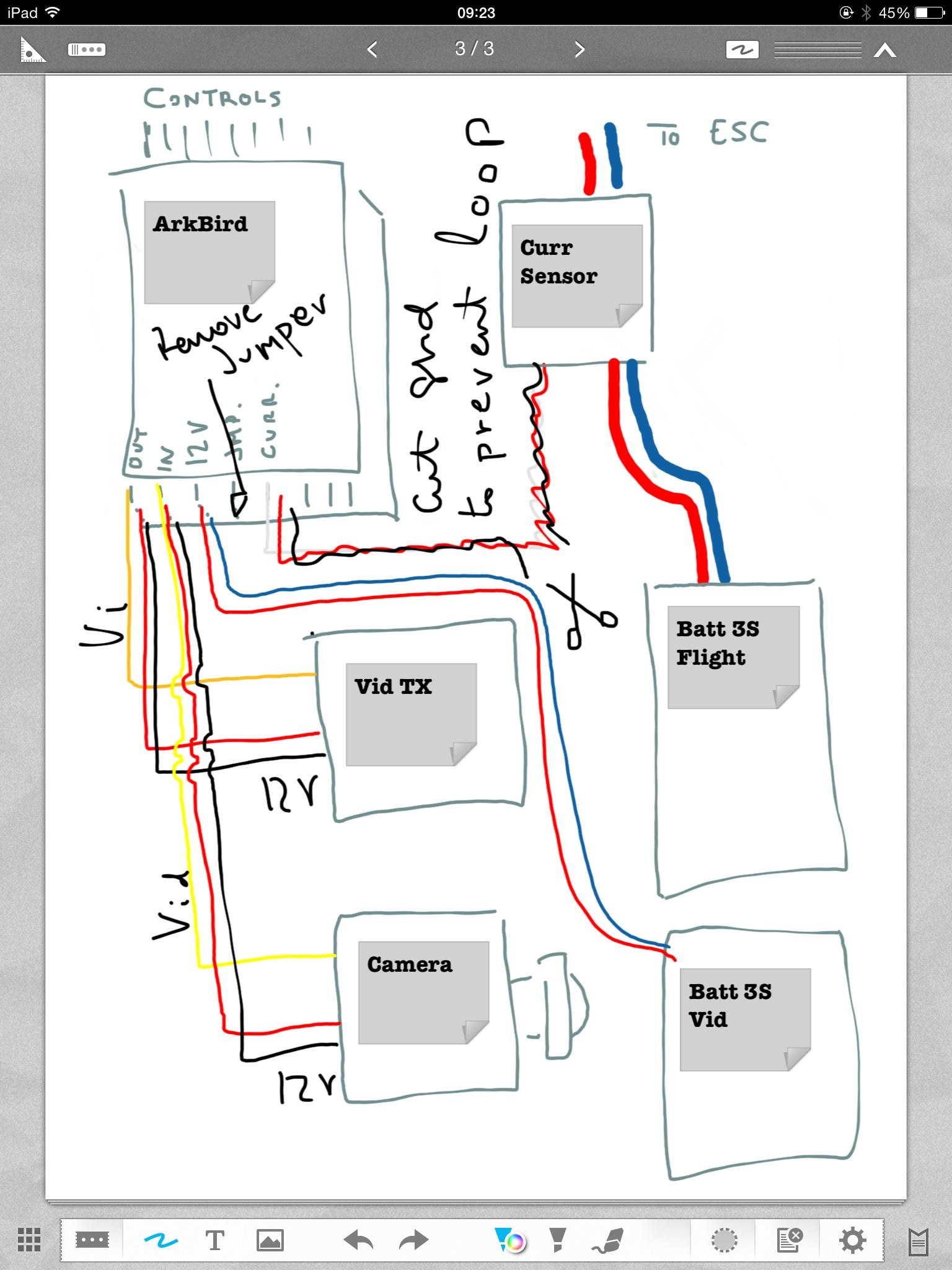 arkbird autopilot system w osd v3 1020 gps altitude hold auto level wiring 12v cam and vtx dual batt