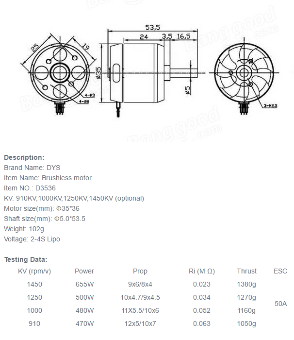 290991185X1261417X29 turnigy d3536 6 1250kv brushless outrunner motor Basic Electrical Wiring Diagrams at n-0.co