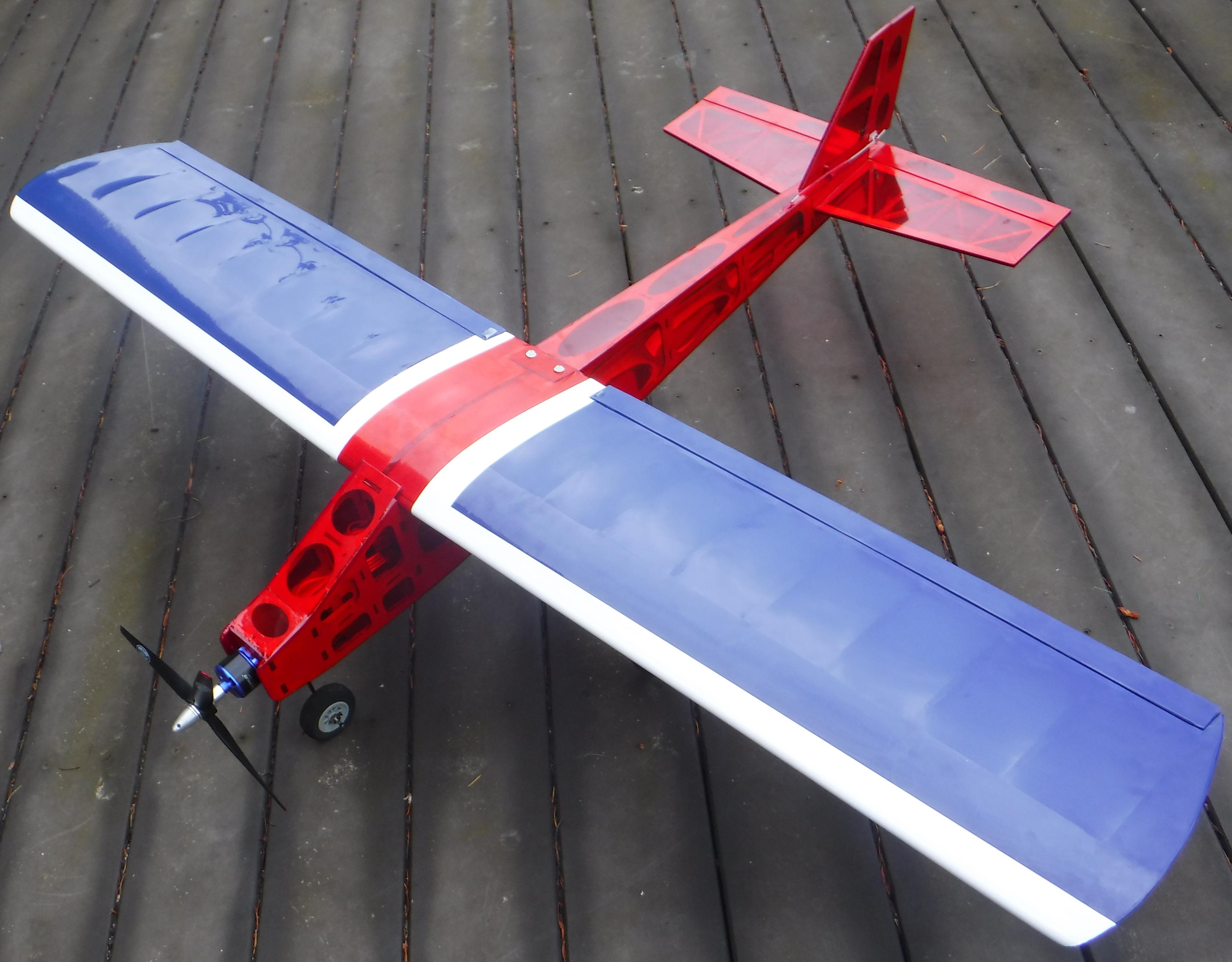 Cloud Dancer Trainer Balsa Laser Cut Airplane Kit Kit
