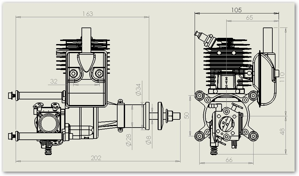 Gas Engine: Xyz 26cc Gas Engine Manual