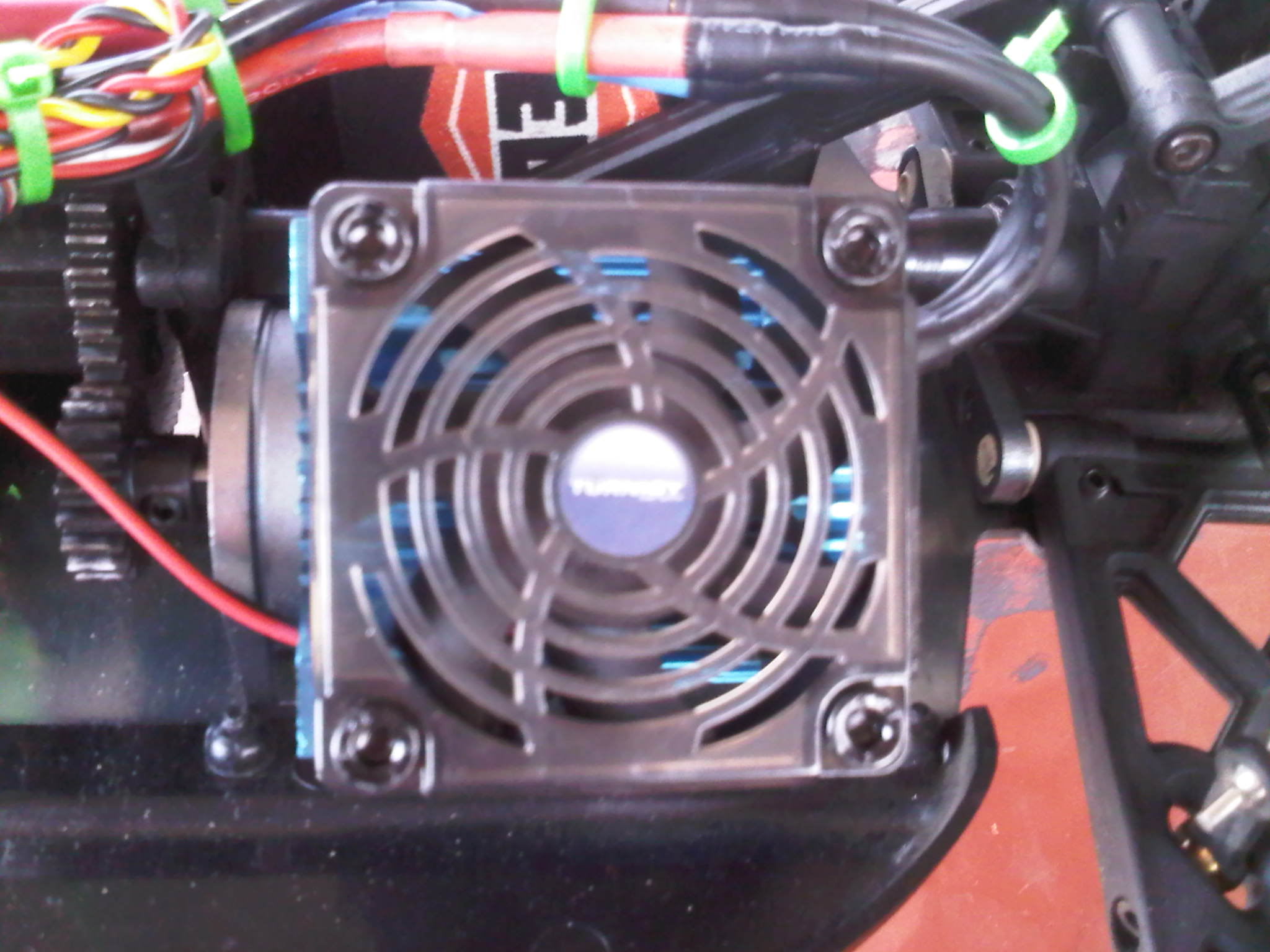 turnigy heat sink fan for 36 series motors picture
