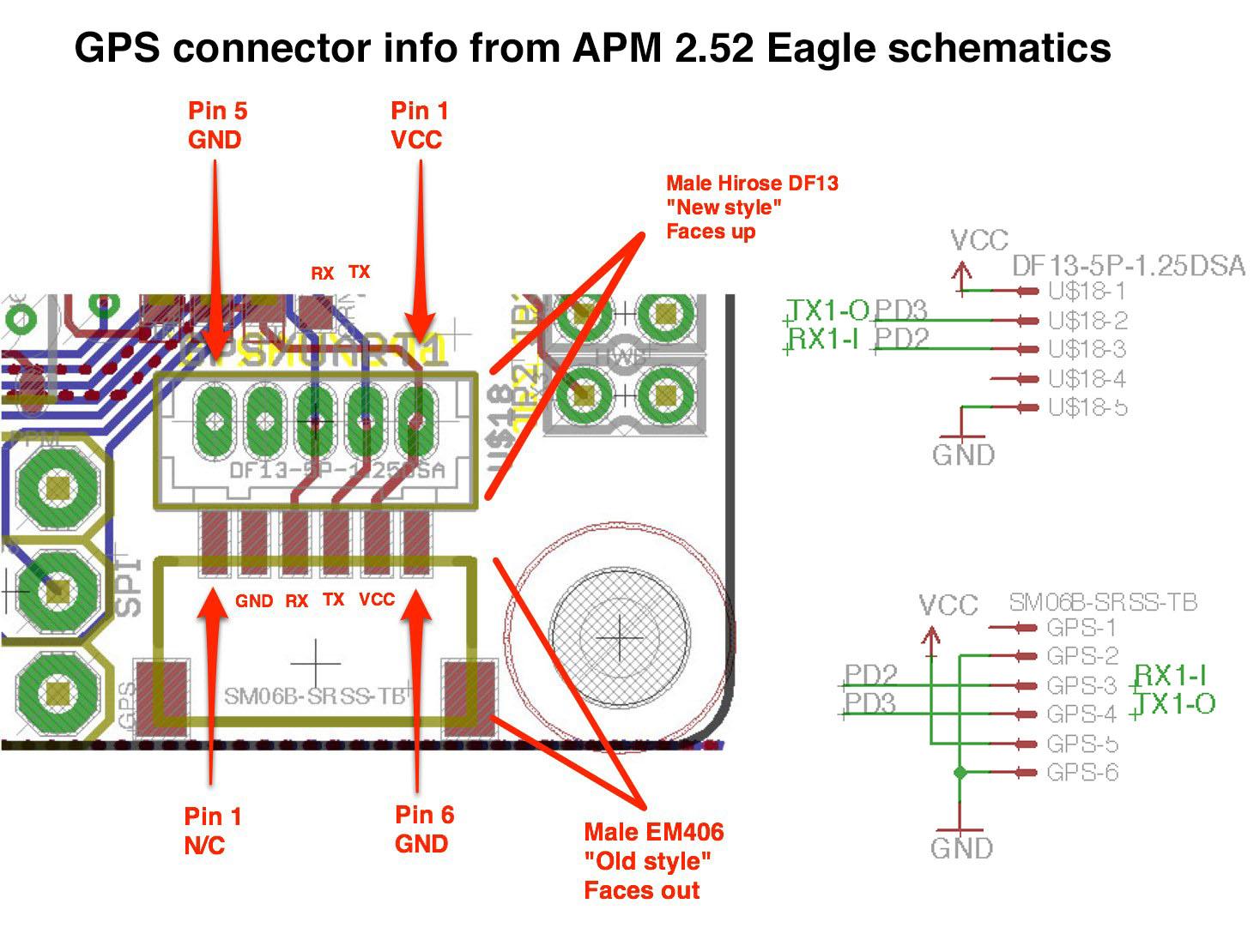 Hkpilot Mega V2 5 Flight Controller Usb Gyro Acc Mag Baro - Wiring Diagram