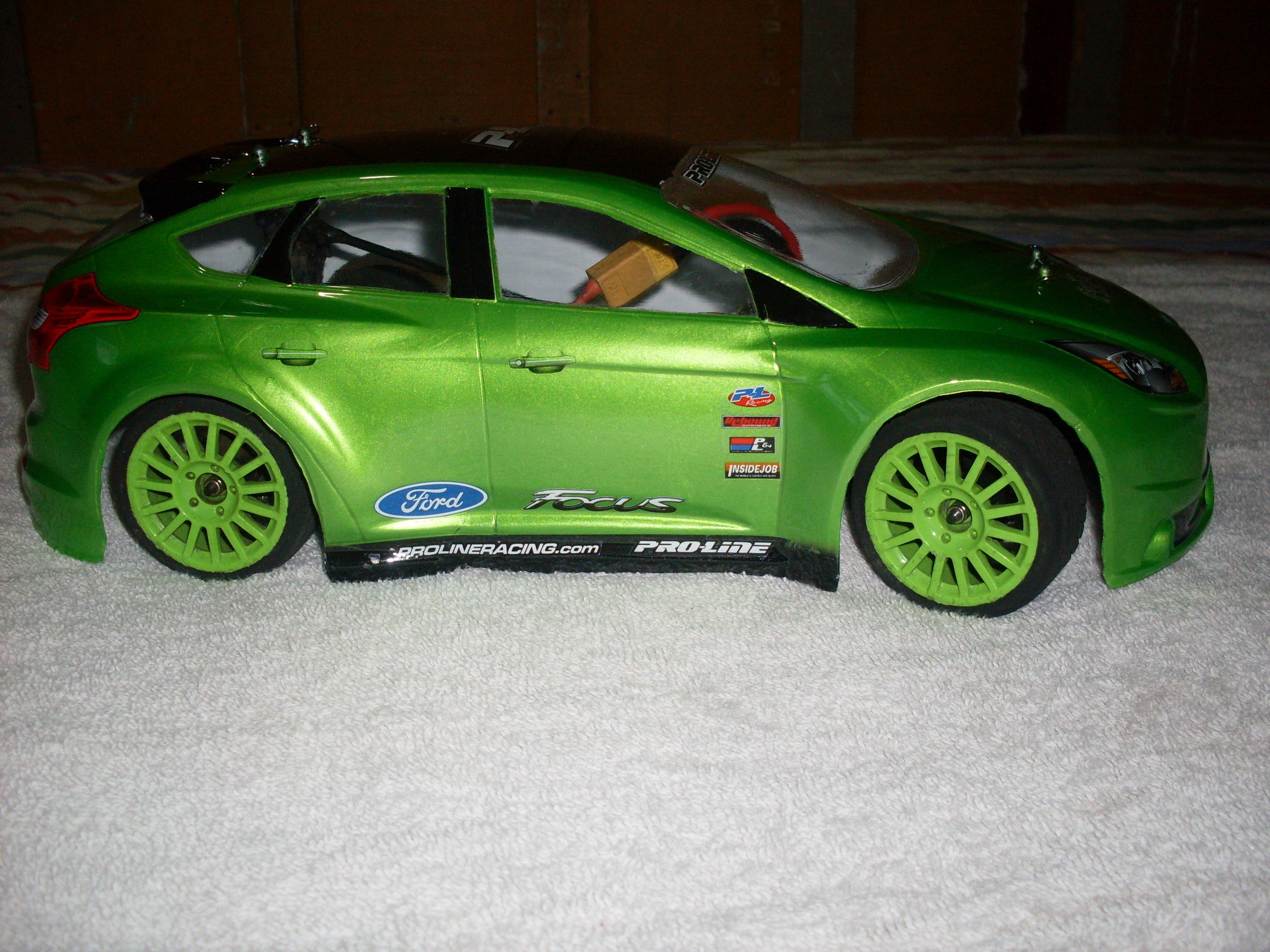 1/16 Brushless 4WD Mini Rally Car