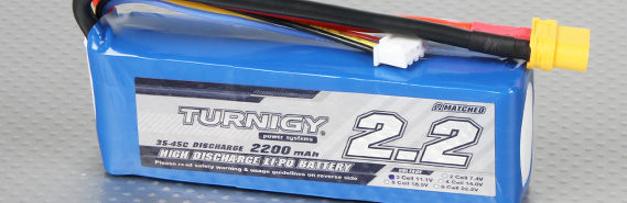 35c Discharge Batteries