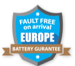 Europe DOA Warranty Return for Lipoly batteries