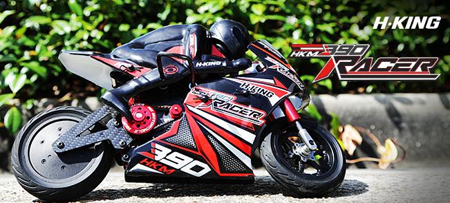 Hobbyking motor bike HKM 390