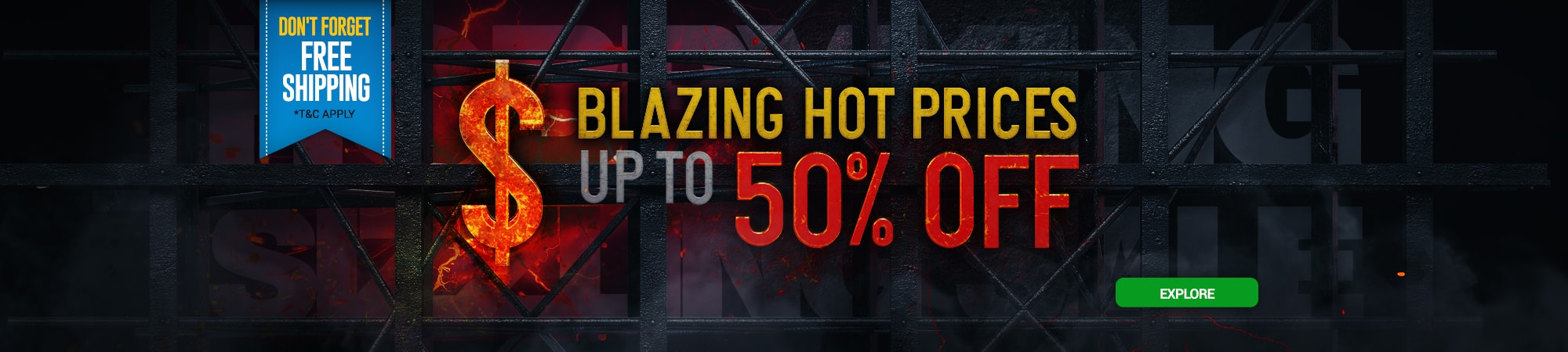 Blazing Hot Prices