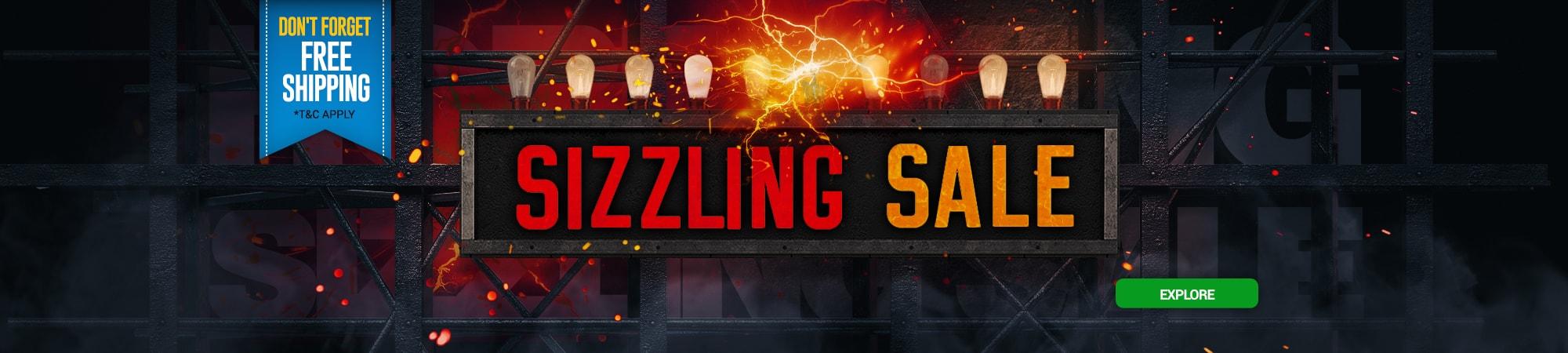 Sizzling Sale