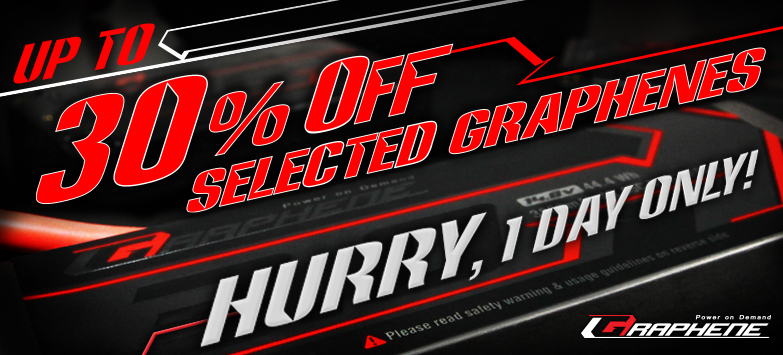 Up to 30% Off Selected Graphenes Sale